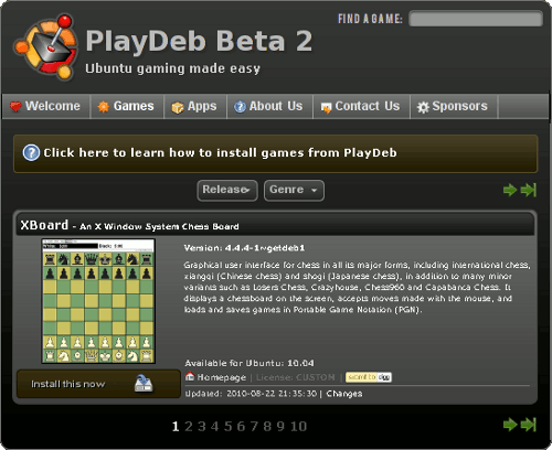 PlayDeb beta 2