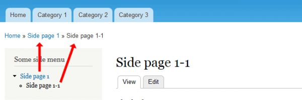 Tutorial - How to Work and Style Breadcrumbs in Drupal 7